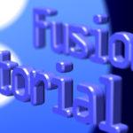 FusionのTutorial videoメモ