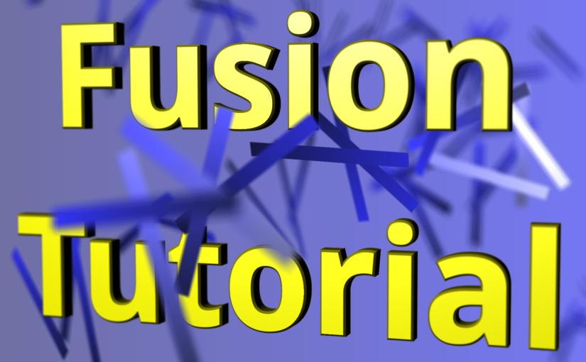 """Fusion Tutorial 04 :<span class=""""sub_title"""">反復作業</span>"""