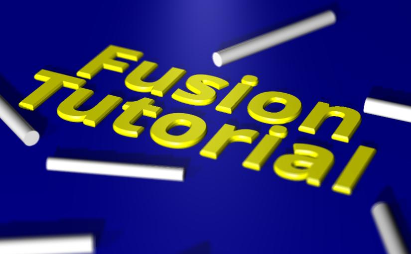 "Fusion Tutorial 05 :<span class=""sub_title"">次元ワープ</span>"