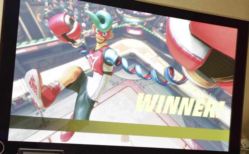 新作「ARMS」がJoy-Conで超絶面白い!