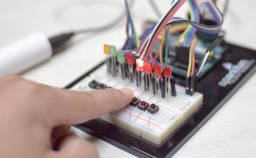 """「B2CS」Arduino用自作ライブラリ<span class=""""sub_title"""">プログラミングでチャタリング回避</span>"""