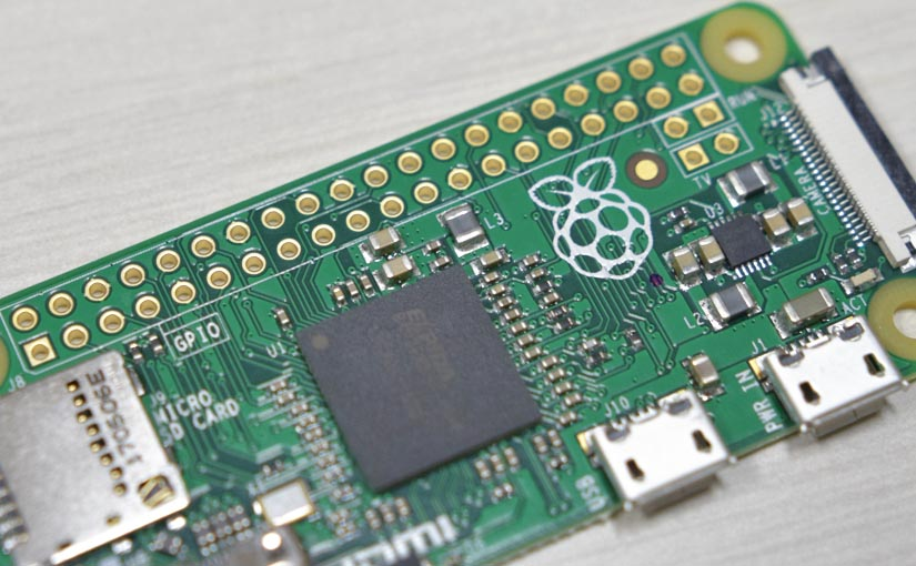 "Raspberry Pi Zeroのセットアップ <span class=""sub_title"">その2:インストール・初期設定</span>"